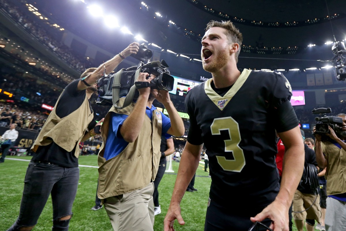 Wil Lutz won't be out long, according to Mickey Loomis