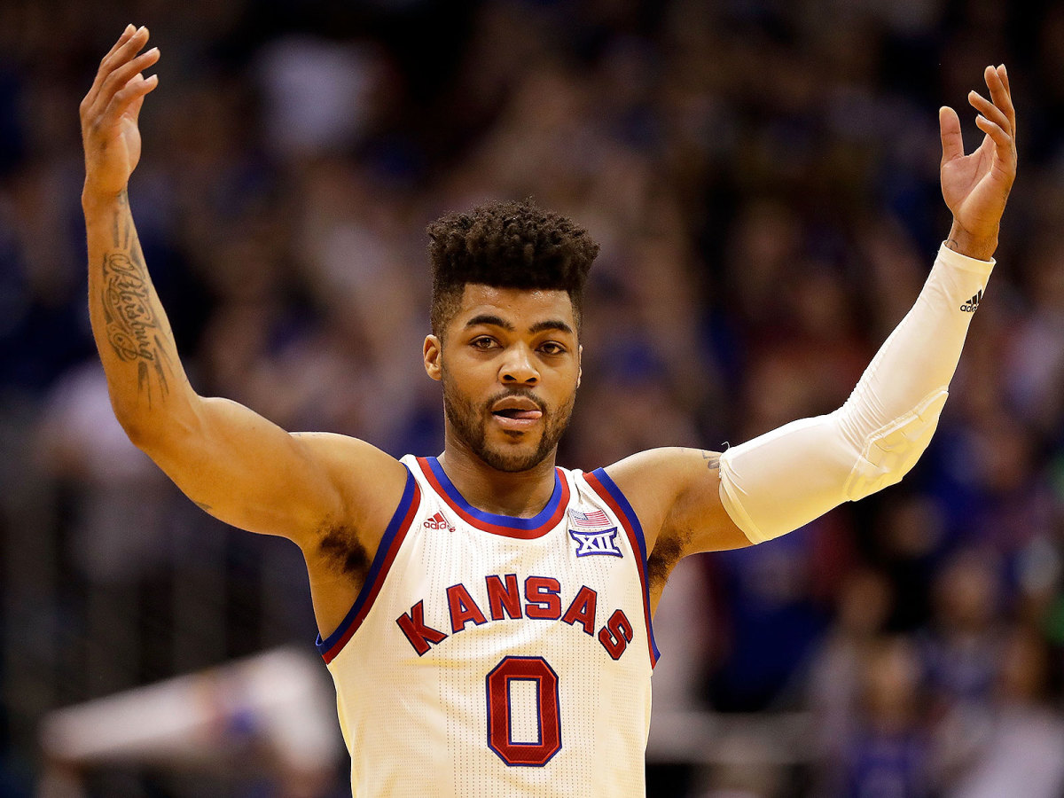Kansas basketball Frank Mason