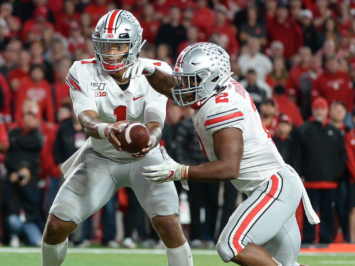 Ohio State football Justin Fields JK Dobbins