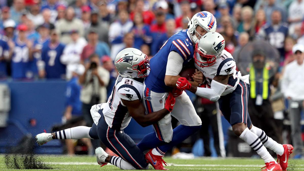 Bill Belichick says helmet shot on Josh Allen is 'what we've coached' - Sports Illustrated
