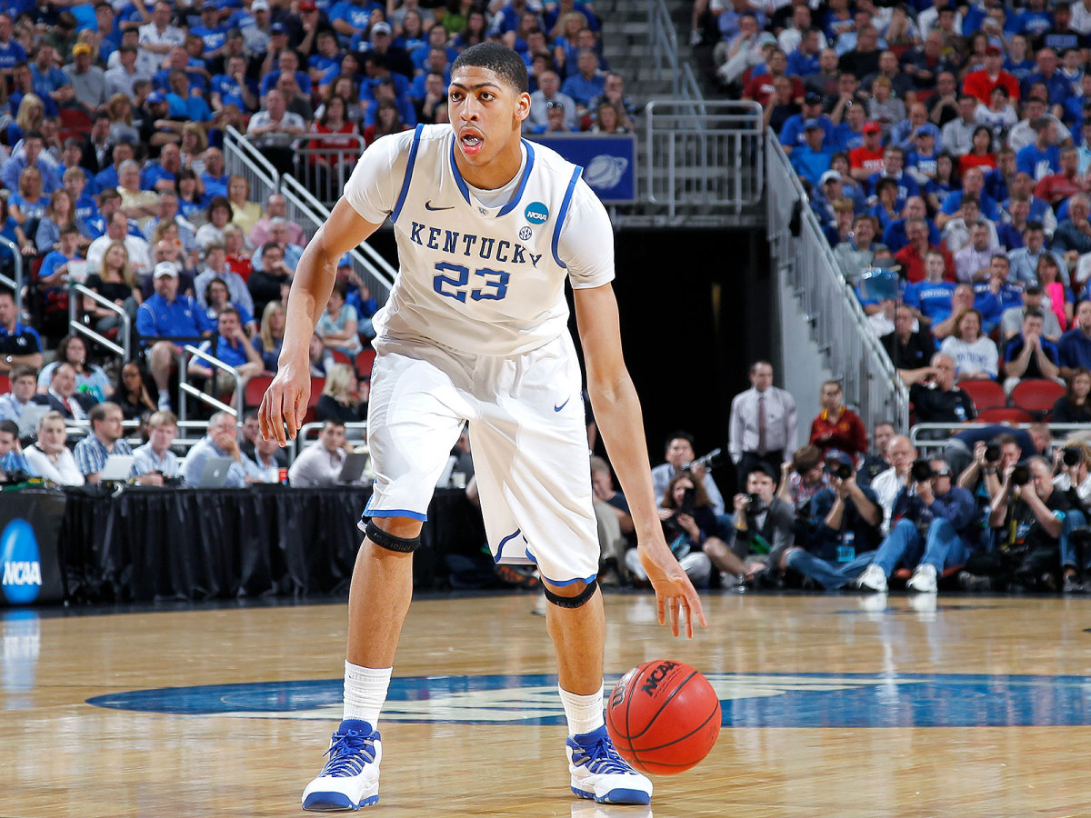 Anthony Davis kentucky college basketball stats
