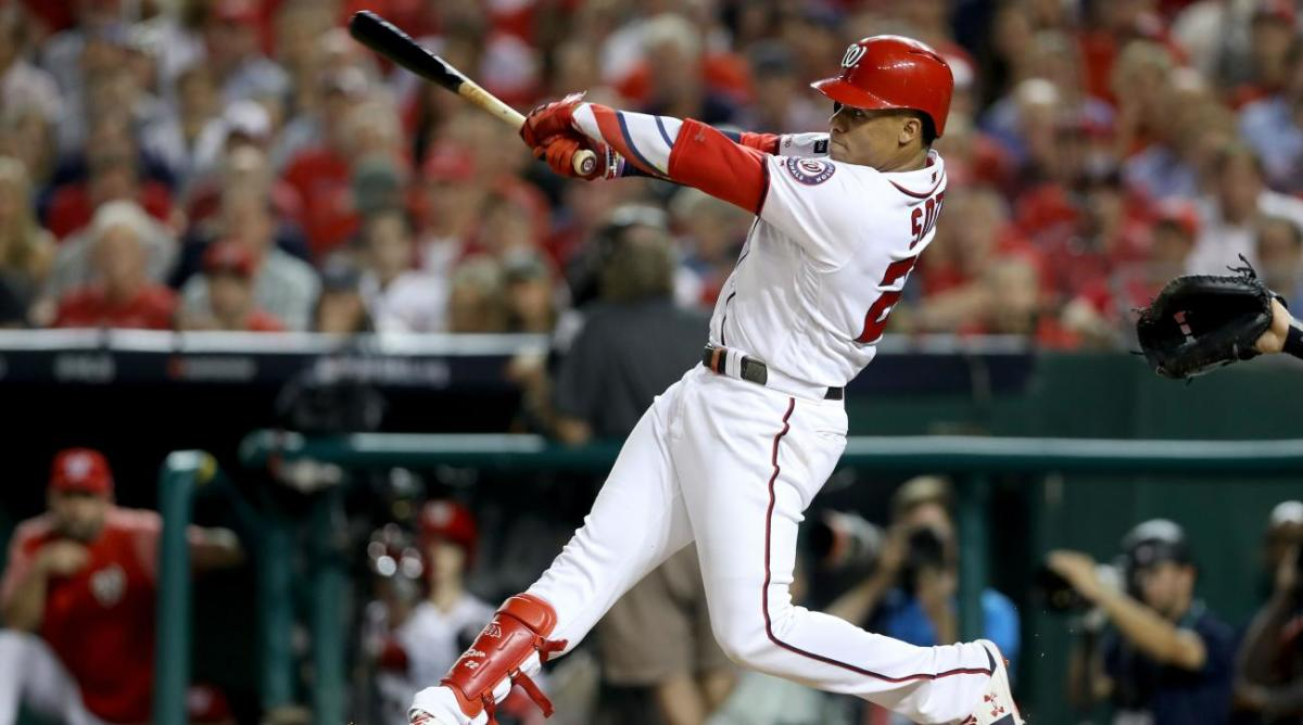 If Only for One Game, Nationals Ditch Their Tortured Postseason History