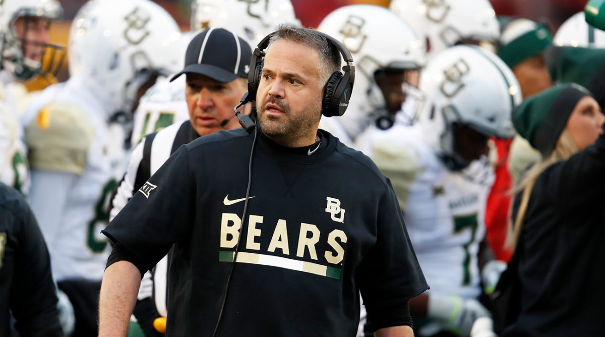 Image result for images of matt rhule