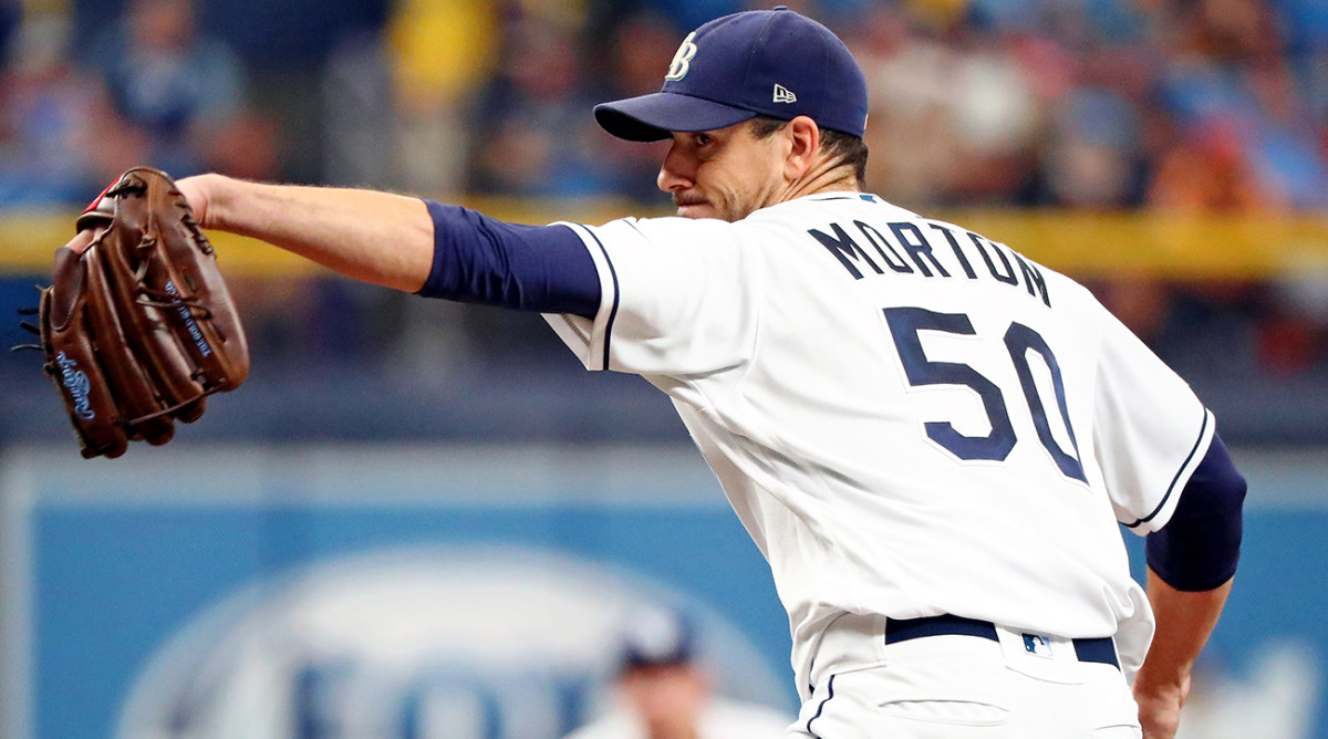 Rays' Charlie Morton pitches ALDS Game 3 vs. Astros