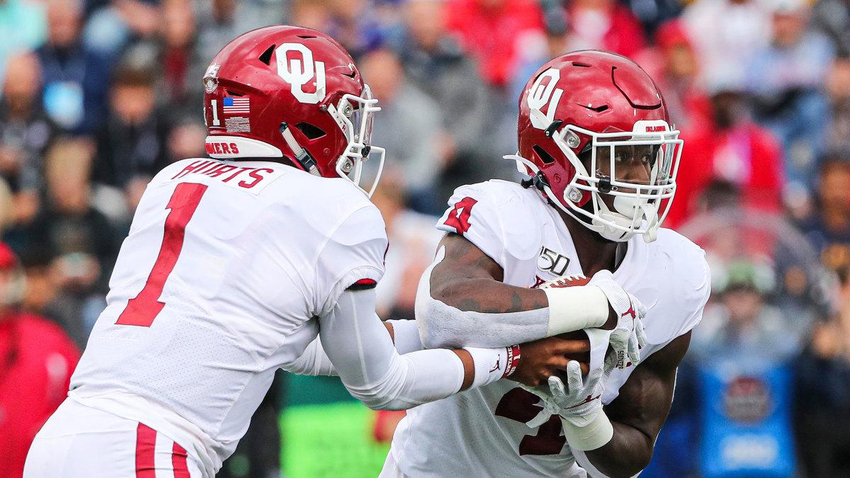 Oklahoma football Jalen Hurts Trey Sermon playoff