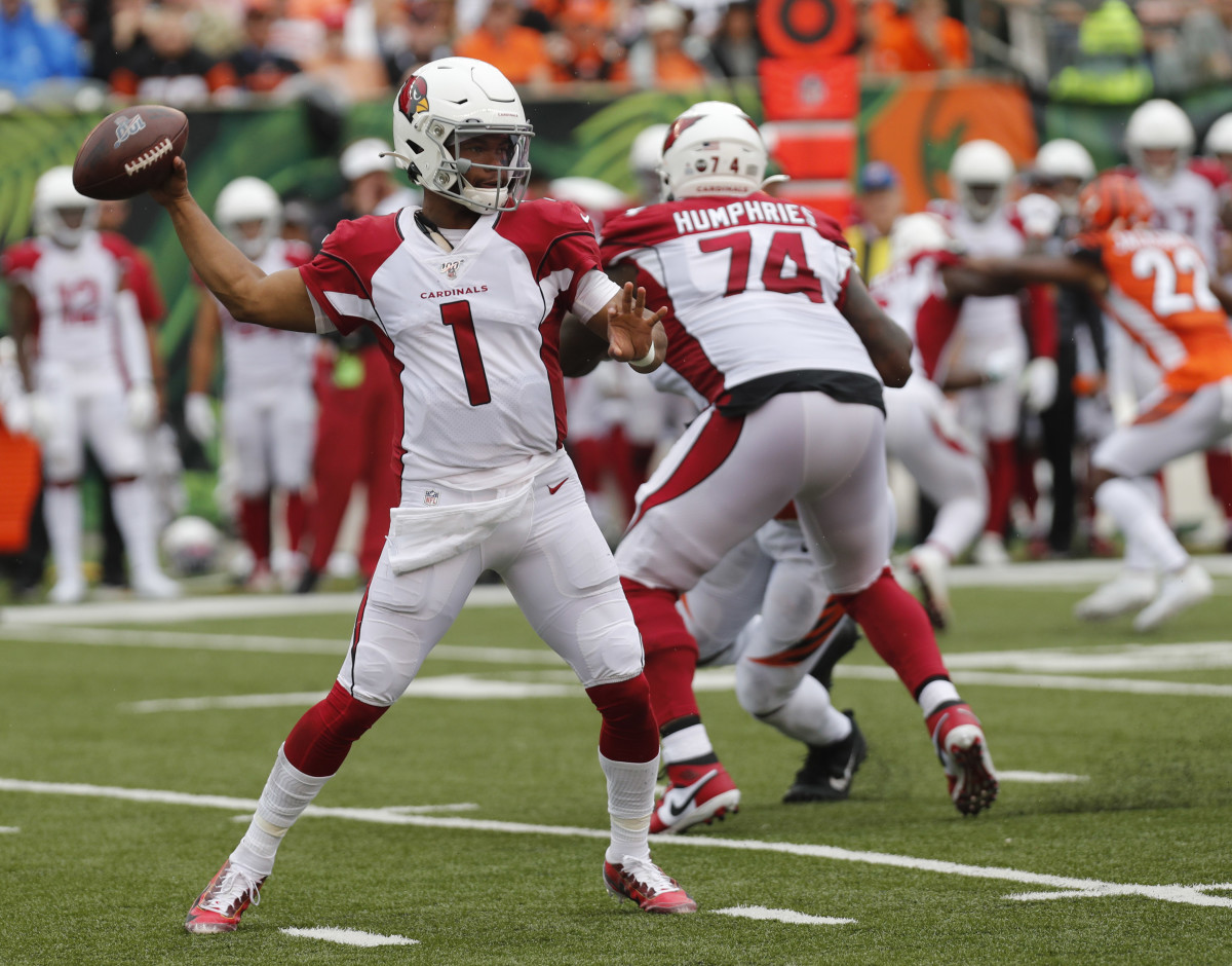 Kyler Murray is on pace to break the rookie passing yardage record.