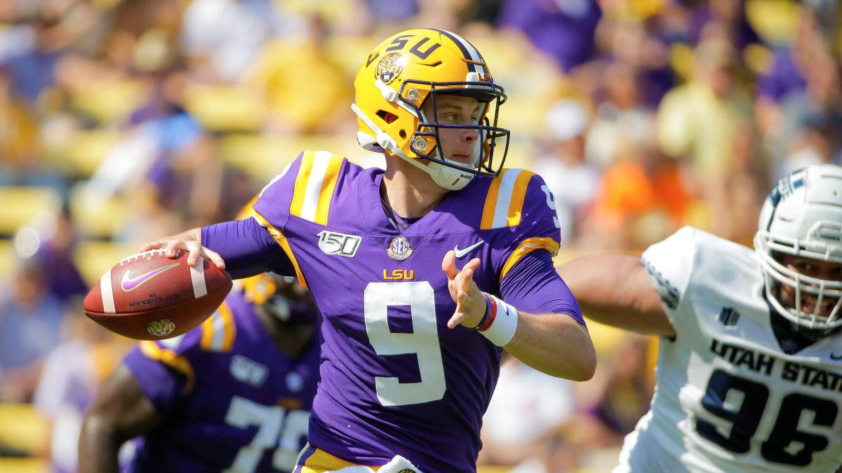 LSU vs Florida Week 7 Joe Burrow football