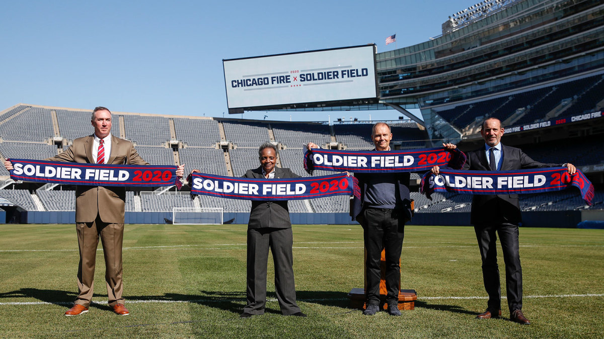 Chicago Fire are going back to Soldier Field
