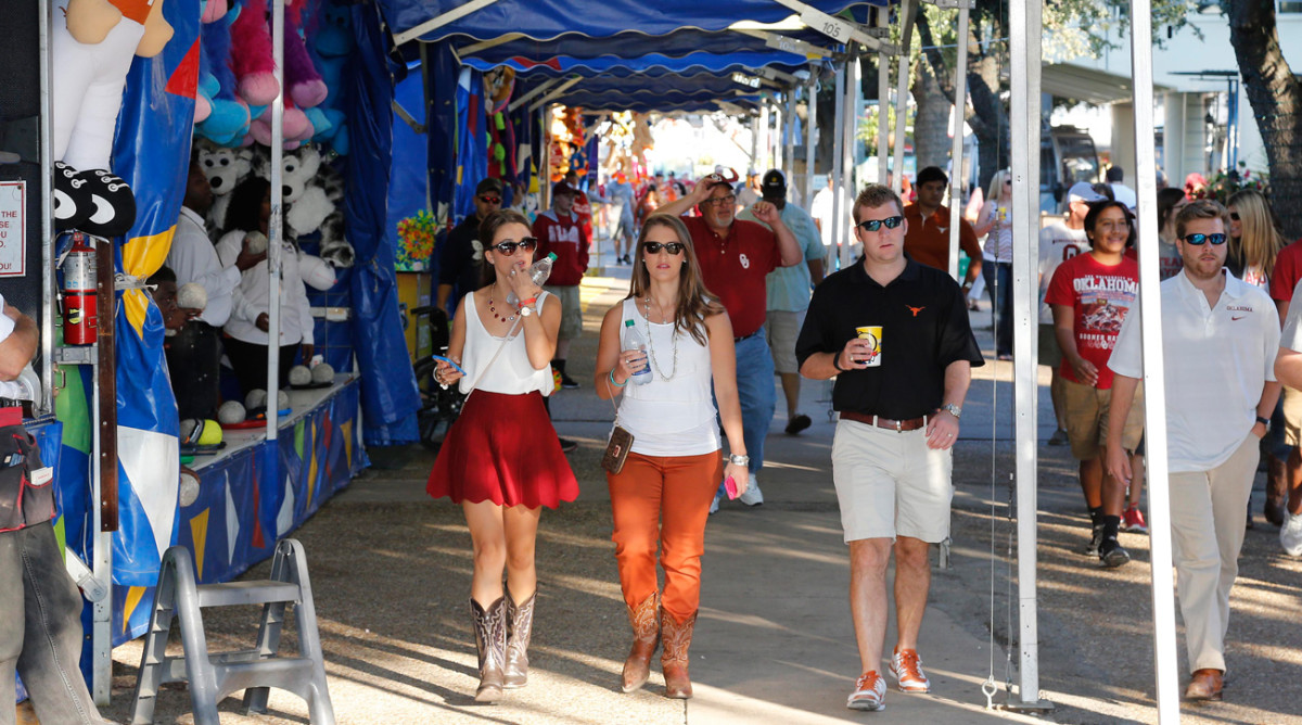 State Fair of Texas is more than the backdrop for Oklahoma-Texas Red River Rivalry