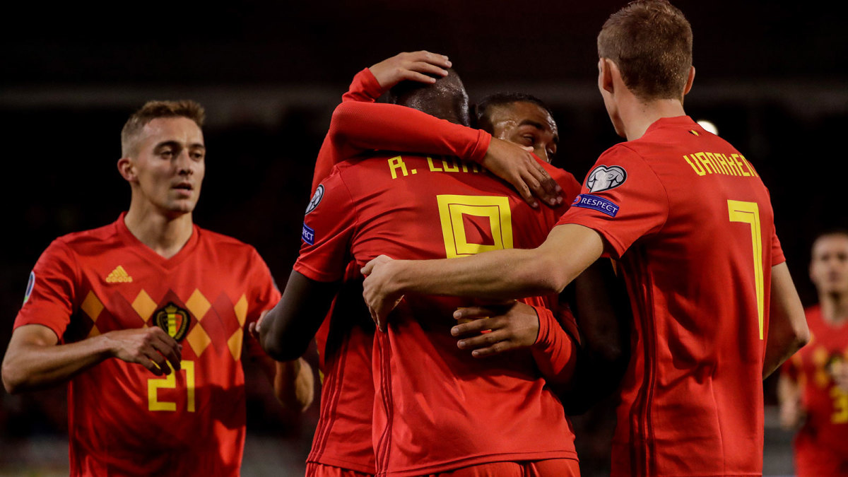 Image result for romelu lukaku vs san marino