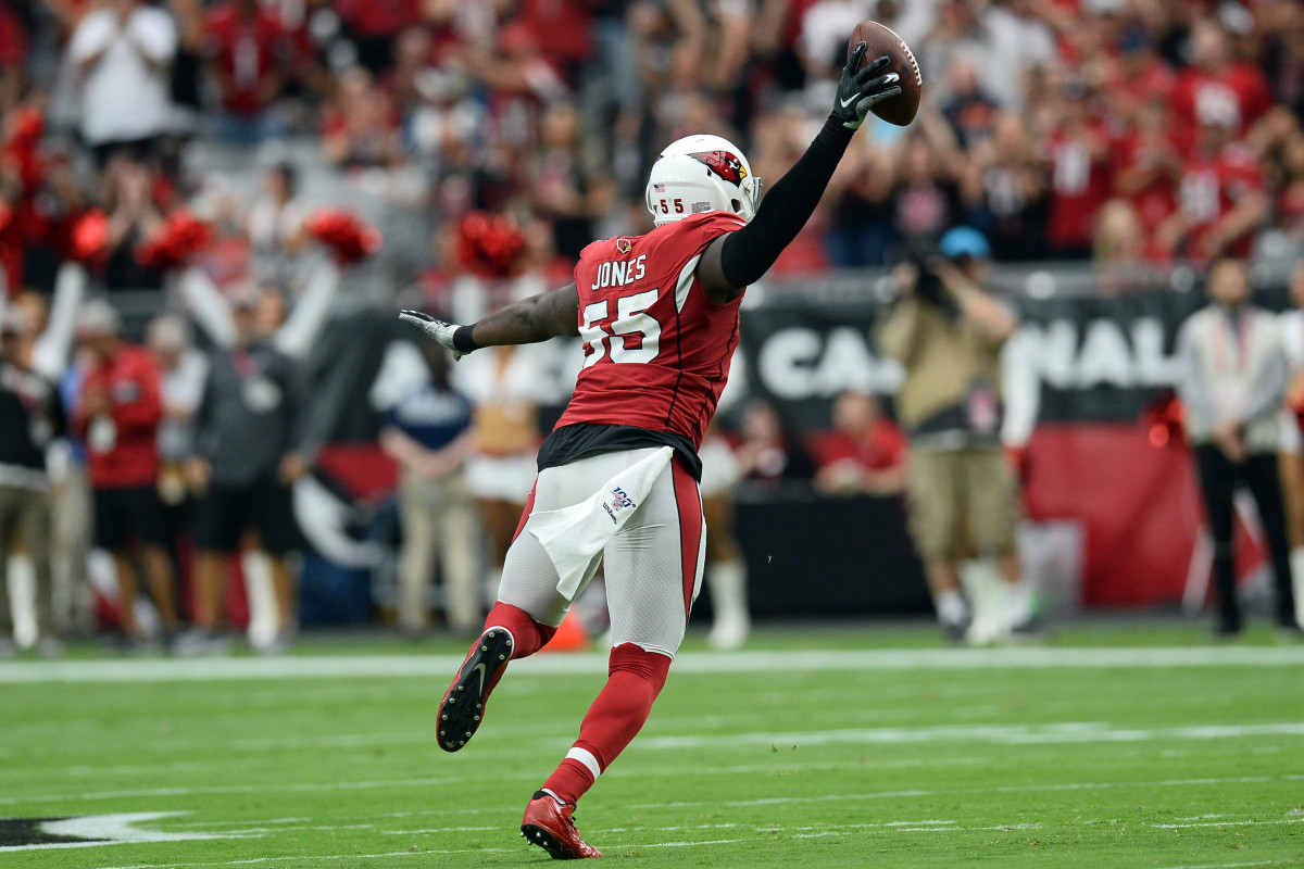 Chandler Jones has been the best player on the Cardinals' struggling defense this season.