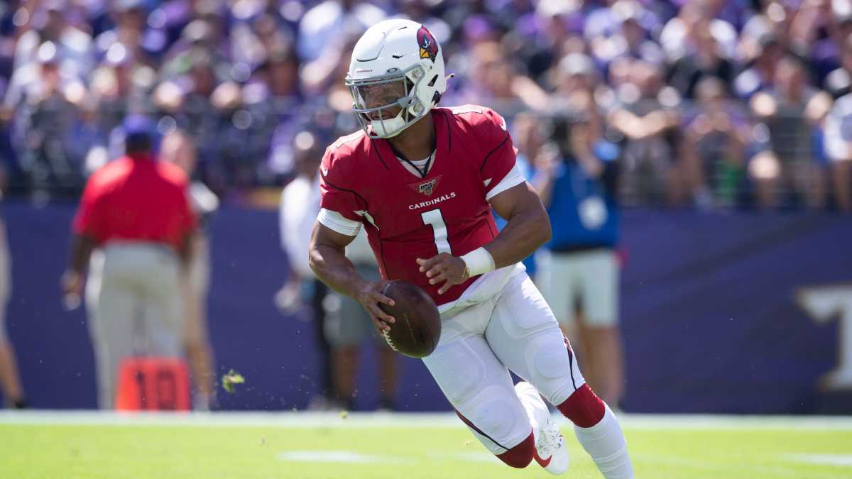 Kyler Murray looks to lead his team to victory against the visiting Atlanta Falcons.