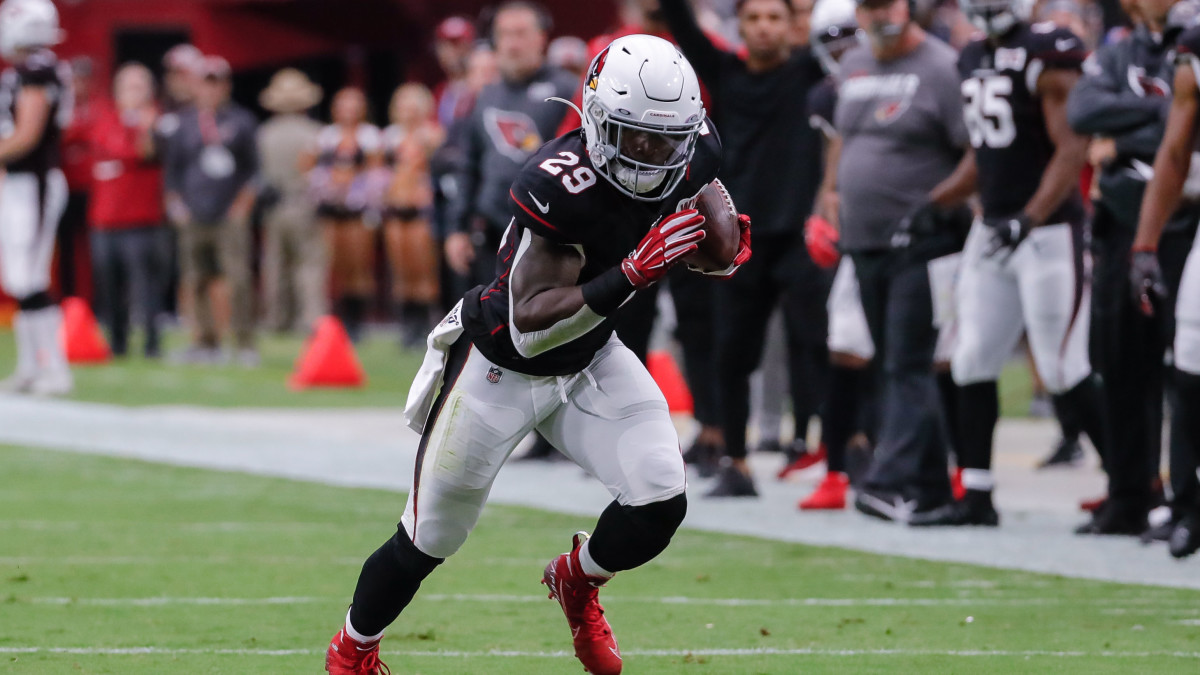 Cardinals RB Chase Edmonds has made the best of his opportunities over the past two weeks.