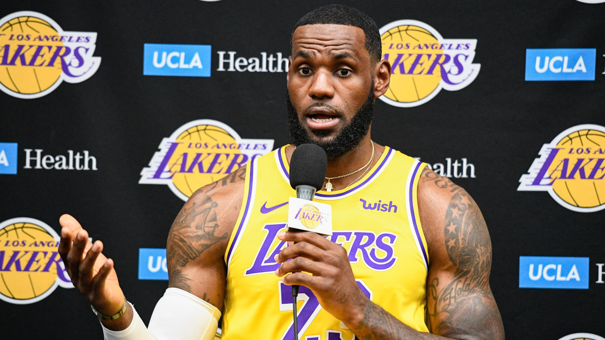 LeBron James Says Daryl Morey Was 'Misinformed' About Situation in China