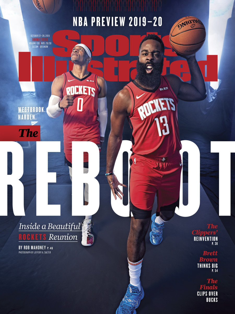 Houston Rockets Sports Illustrated Cover features James Harden and Russell Westbrook