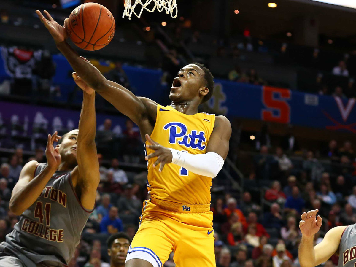 Pitt basketball Xavier Johnson