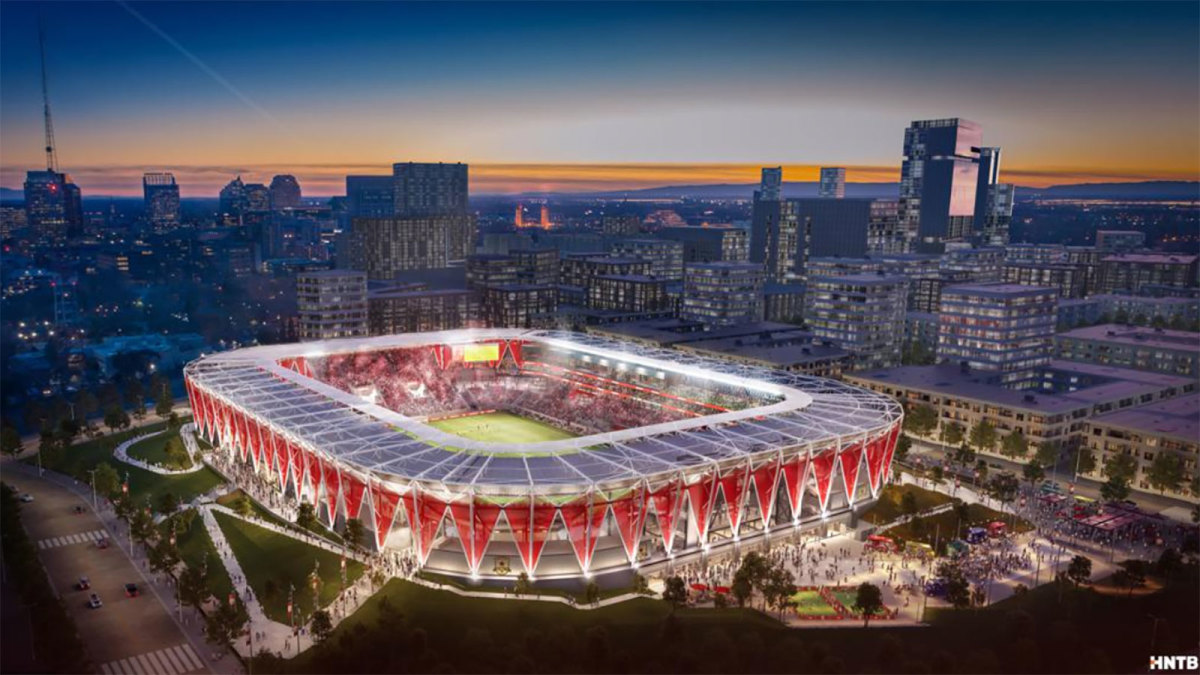 Sacramento Republic's proposed MLS stadium
