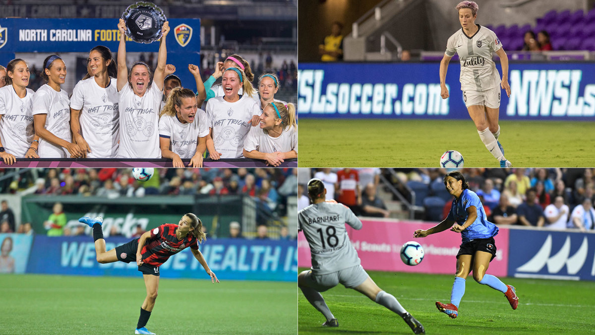 NC Courage, Chicago Red Stars, Portland Thorns and Reign FC are in the NWSL playoffs