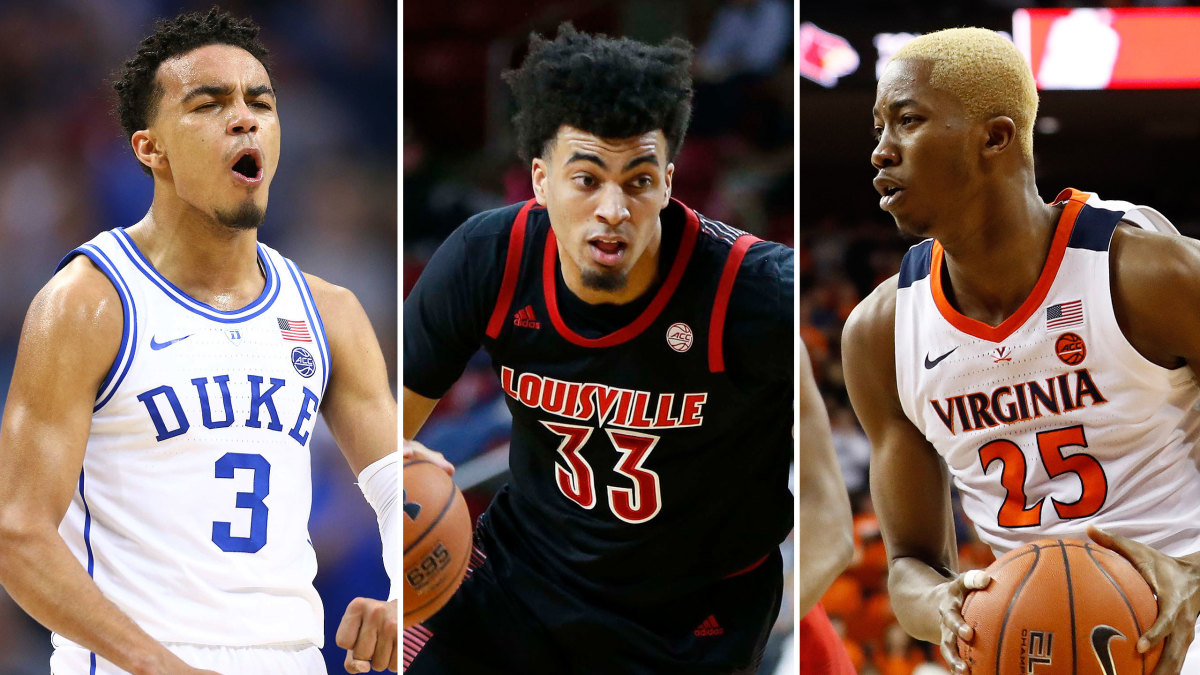 ACC basketball 2019-20 Duke Louisville Virginia UNC