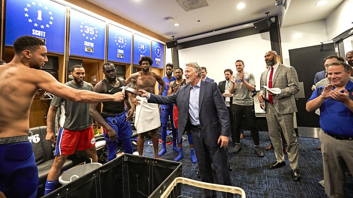Brett Brown and the 76ers