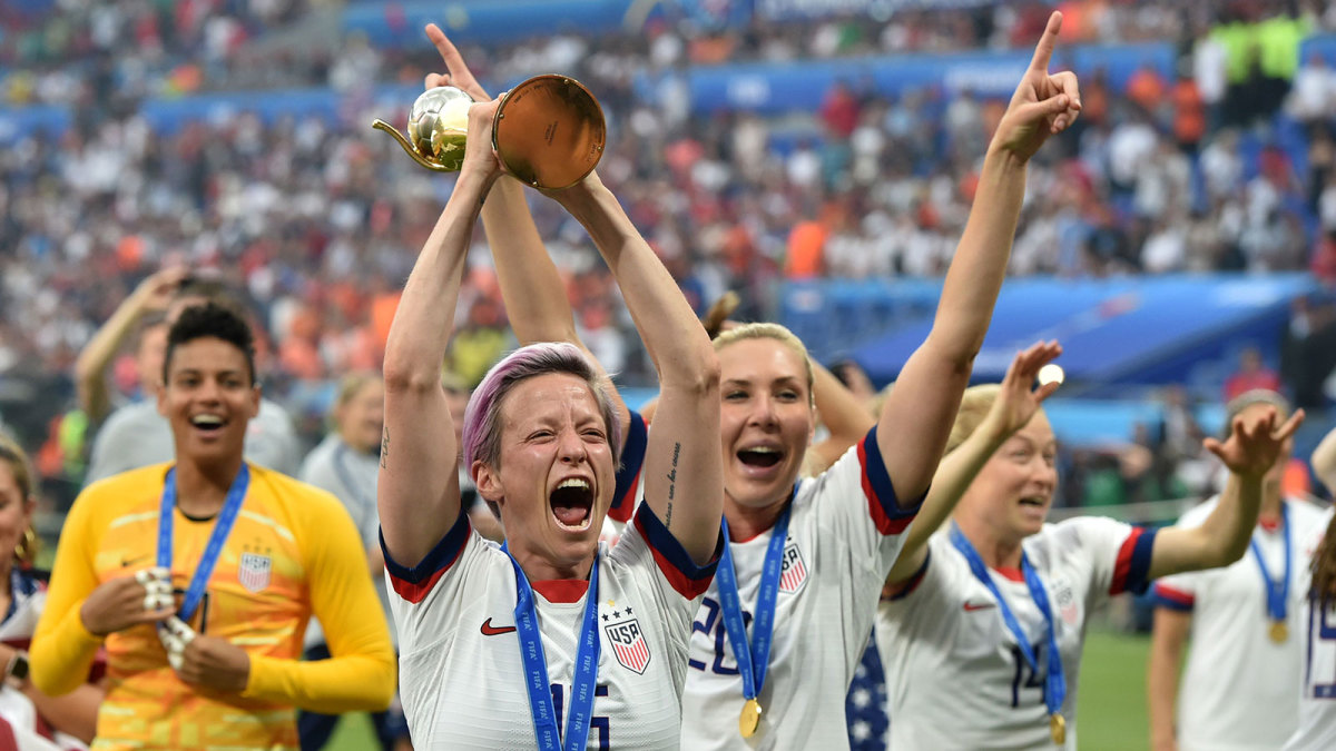 The USWNT wins the 2019 Women's World Cup