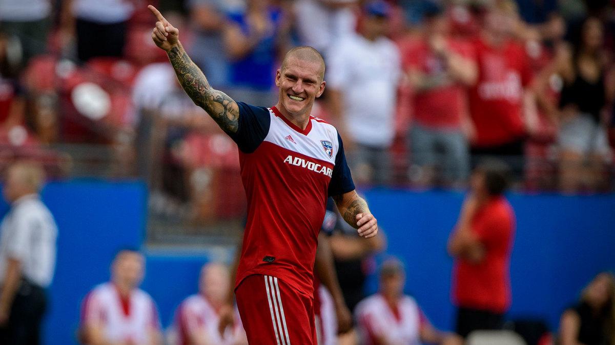 Zdenek Ondrasek is in form for FC Dallas