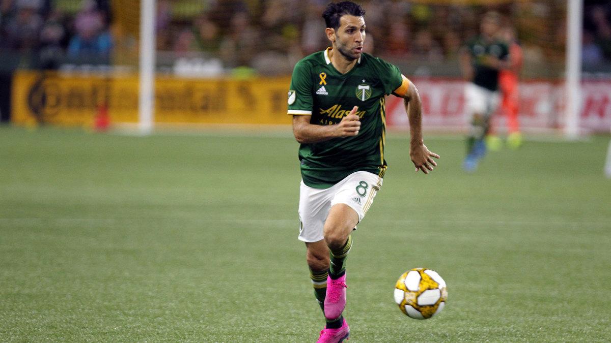 Portland Timbers captain Diego Valeri