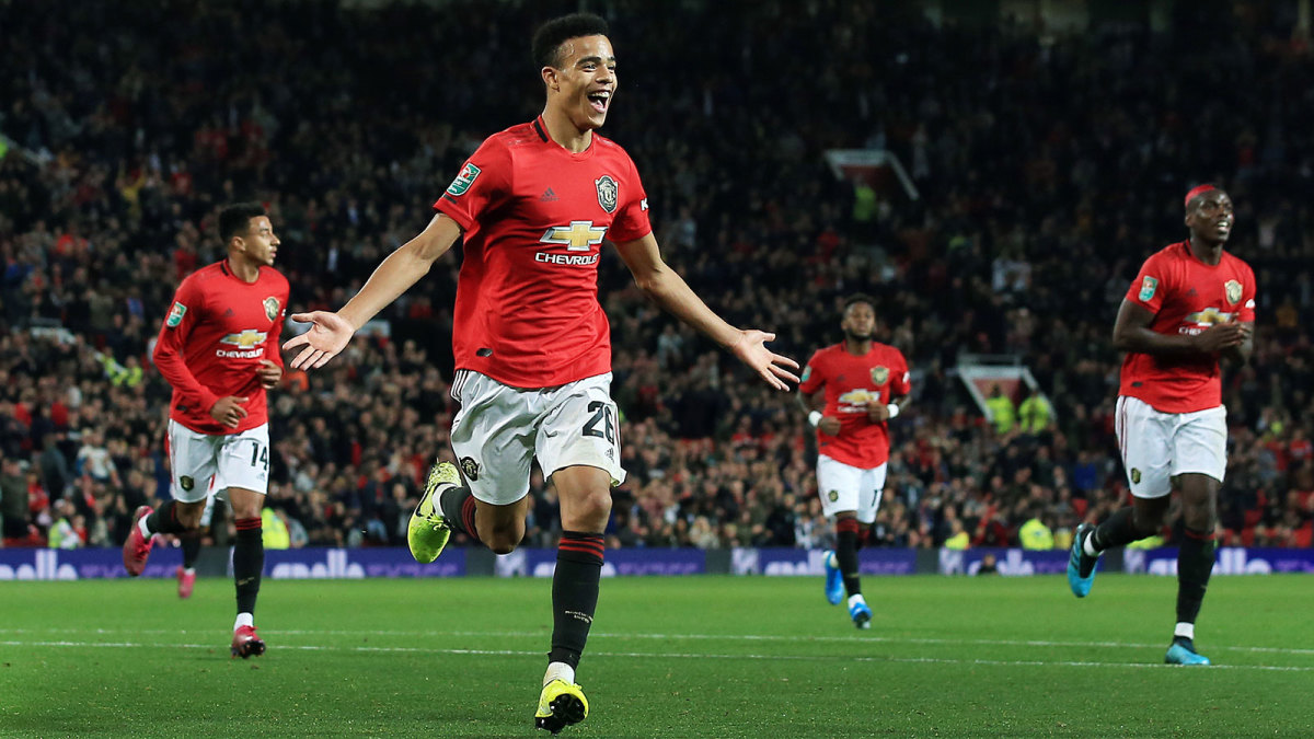 Mason Greenwood has signed a new Man United deal