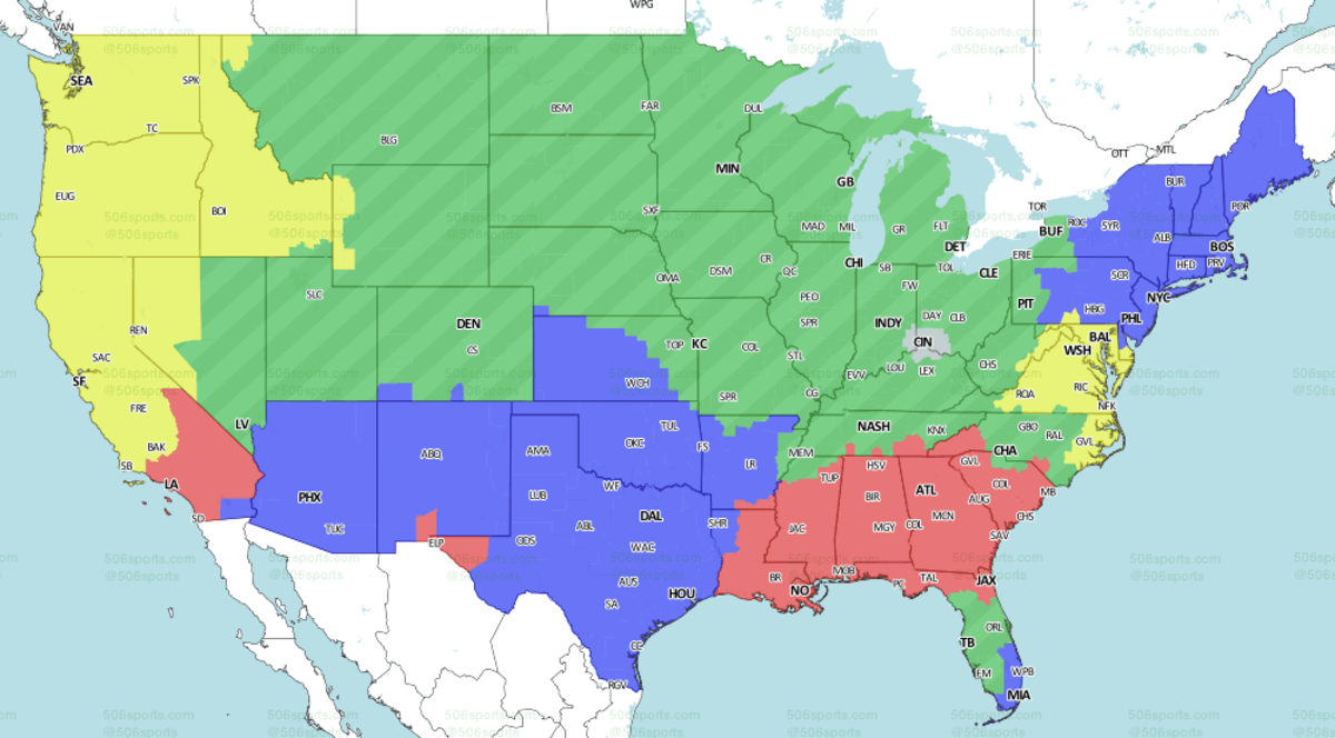 506 Sports Early Fox Viewing Map