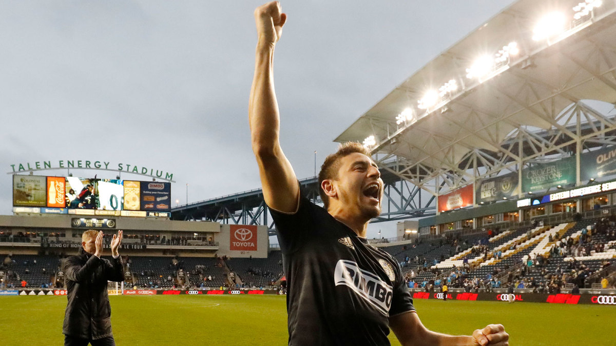 Alejandro Bedoya and the Philadelphia Union move on in the MLS playoffs
