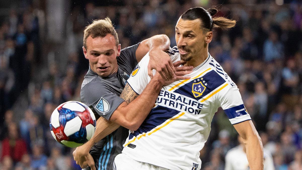 The LA Galaxy beat Minnesota United in the MLS playoffs