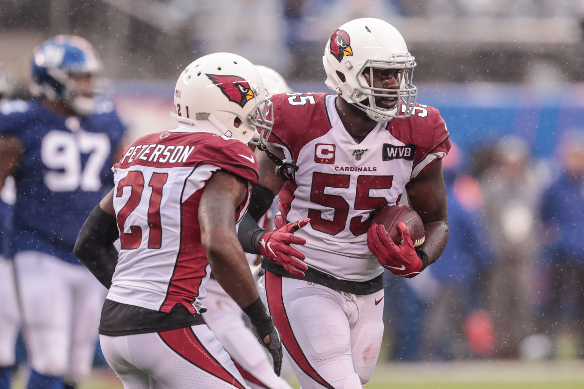 Chandler Jones and Patrick Peterson, stalwarts of an Arizona defense which might be more dangerous than first thought.