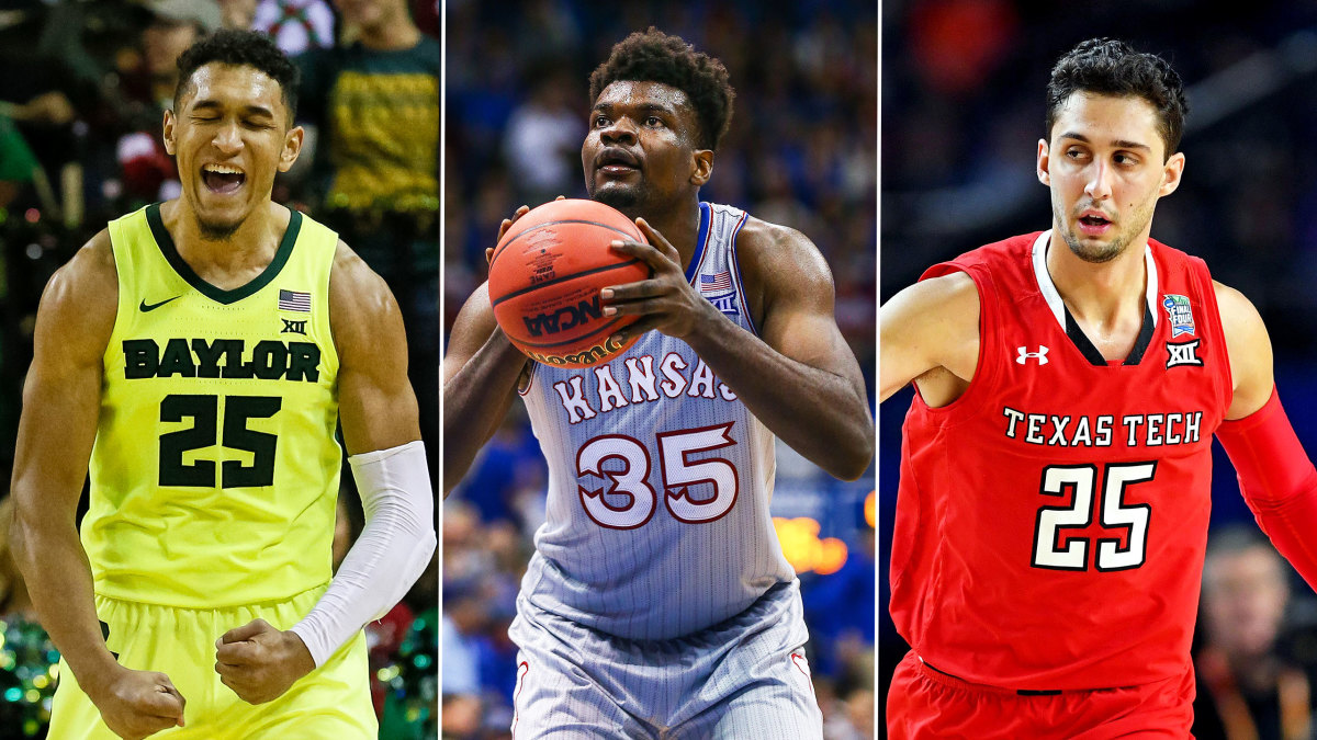 Big 12 Basketball Kansas Leads 2019 20 Rankings Sports