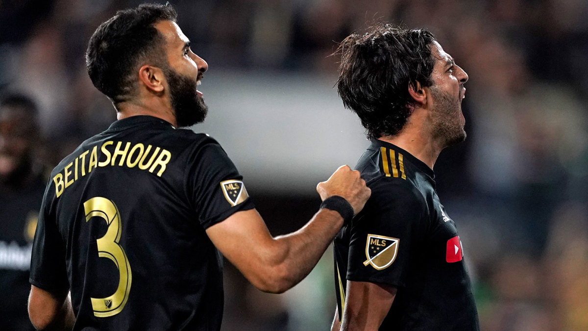 LAFC faces LA Galaxy in the MLS playoffs