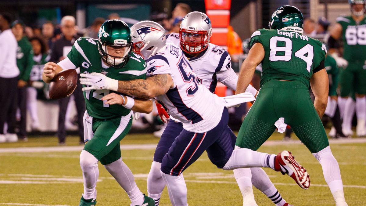 Patriots Blank Jets On Monday Night Football Remain