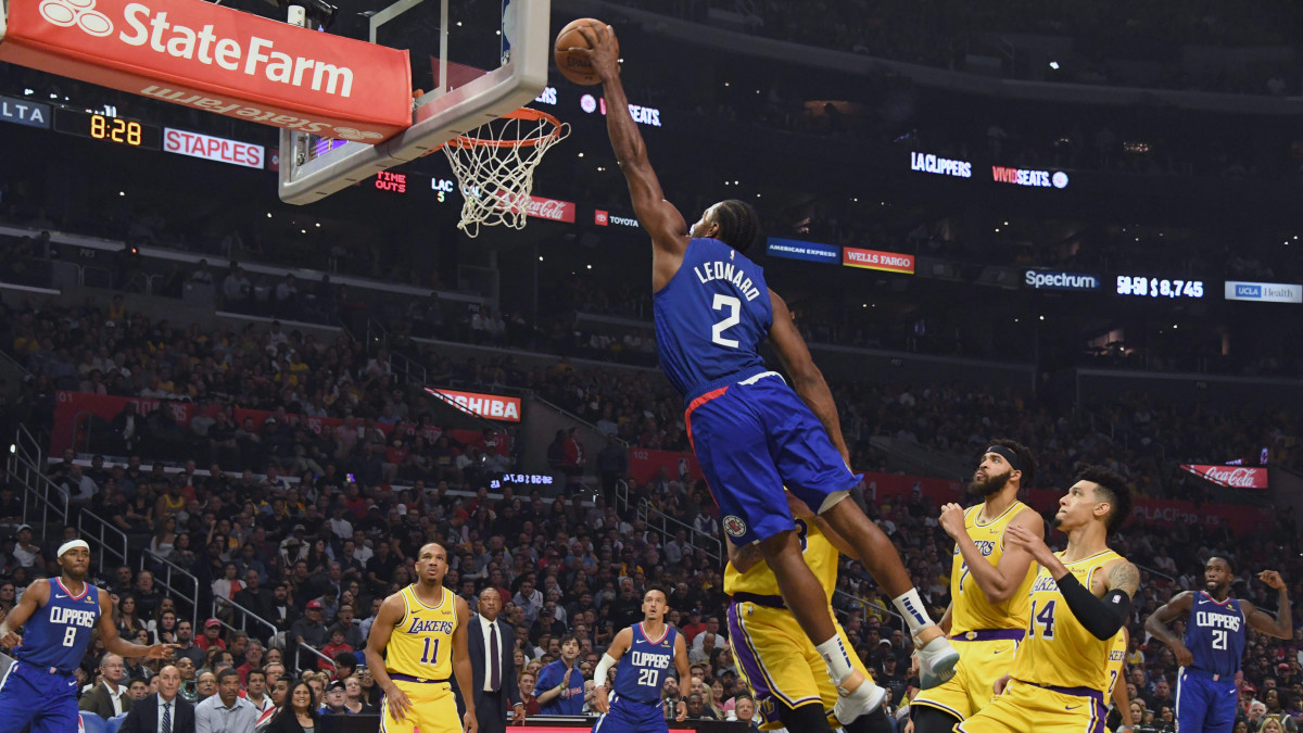 Clippers defeat Lakers in 2019-20 NBA season opener ...Lakers Vs Clippers