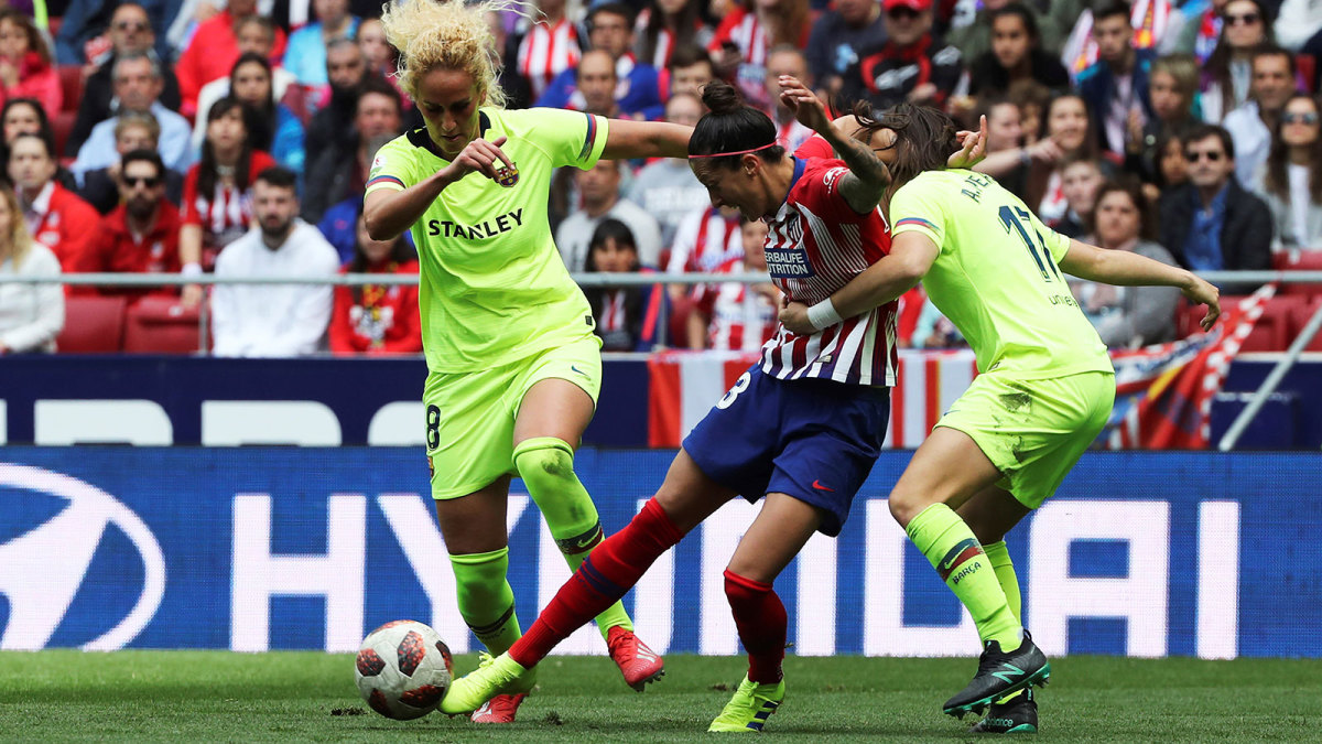 Women's soccer players in Spain are going on strike.