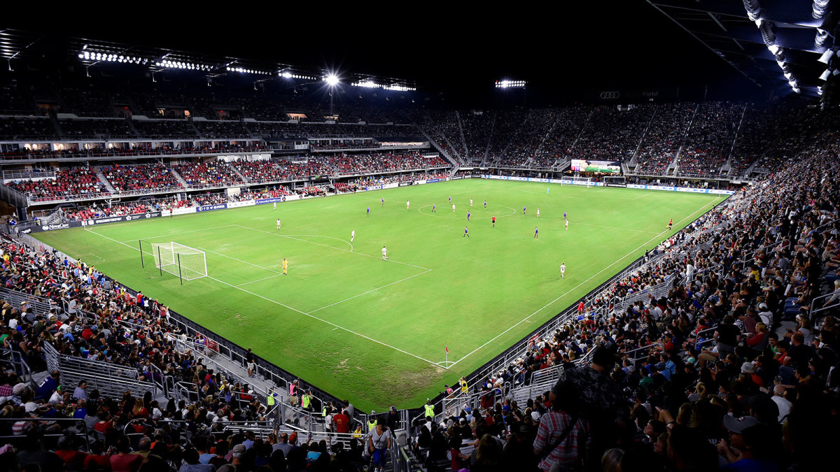 The Washington Spirit sold out DC United's Audi Field