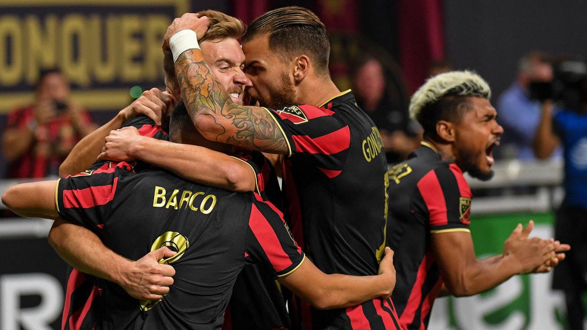 Atlanta United beats the Philadelphia Union in the MLS playoffs