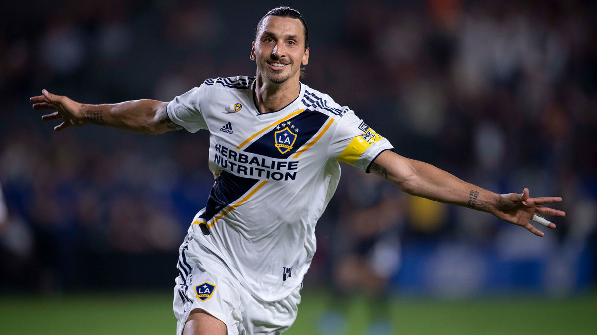 Zlatan Ibrahimovic scored 53 goals in 58 games with the LA Galaxy.