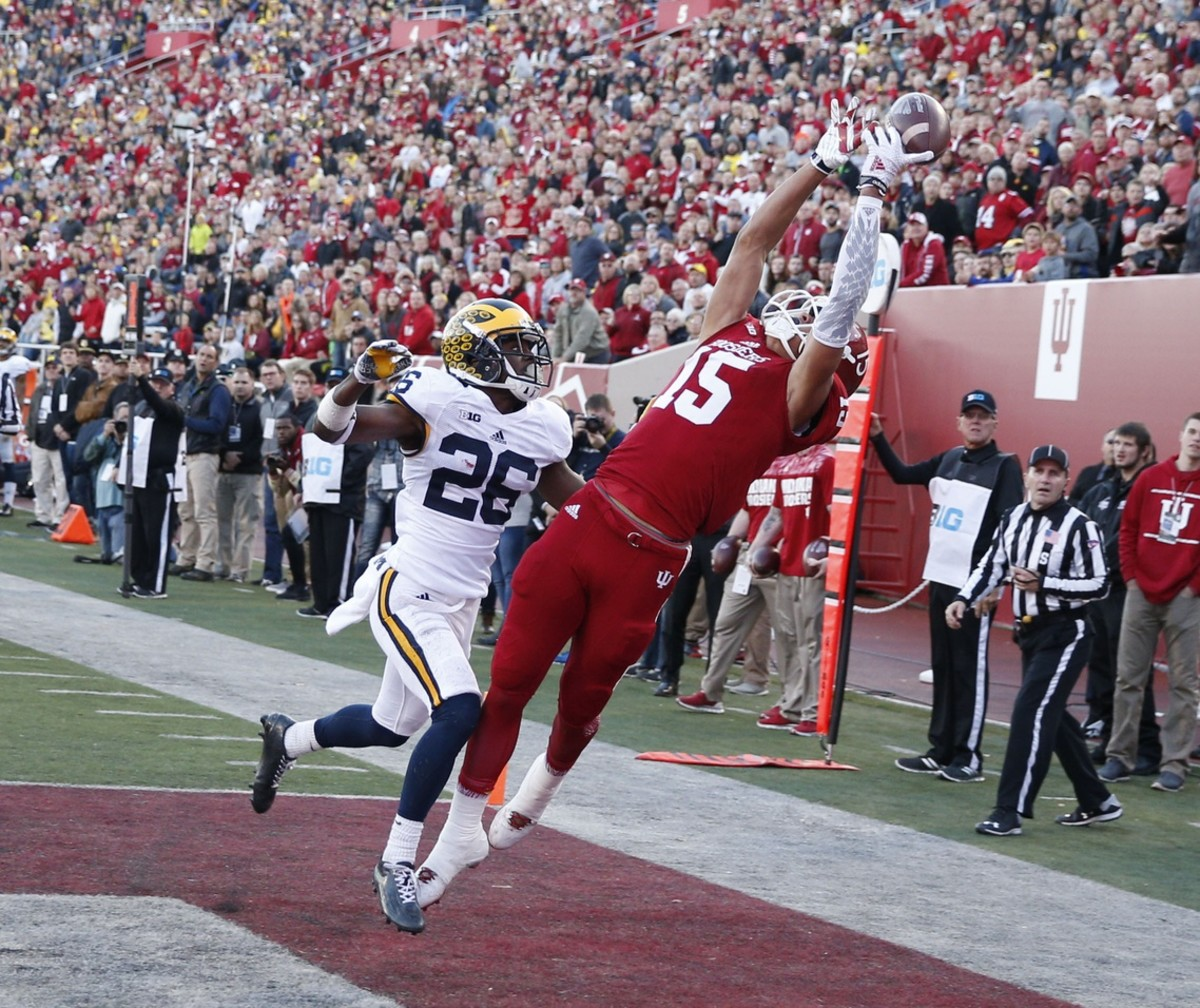 Indiana wide receiver Nick Westbrook has had a brilliant career for the Hoosiers.
