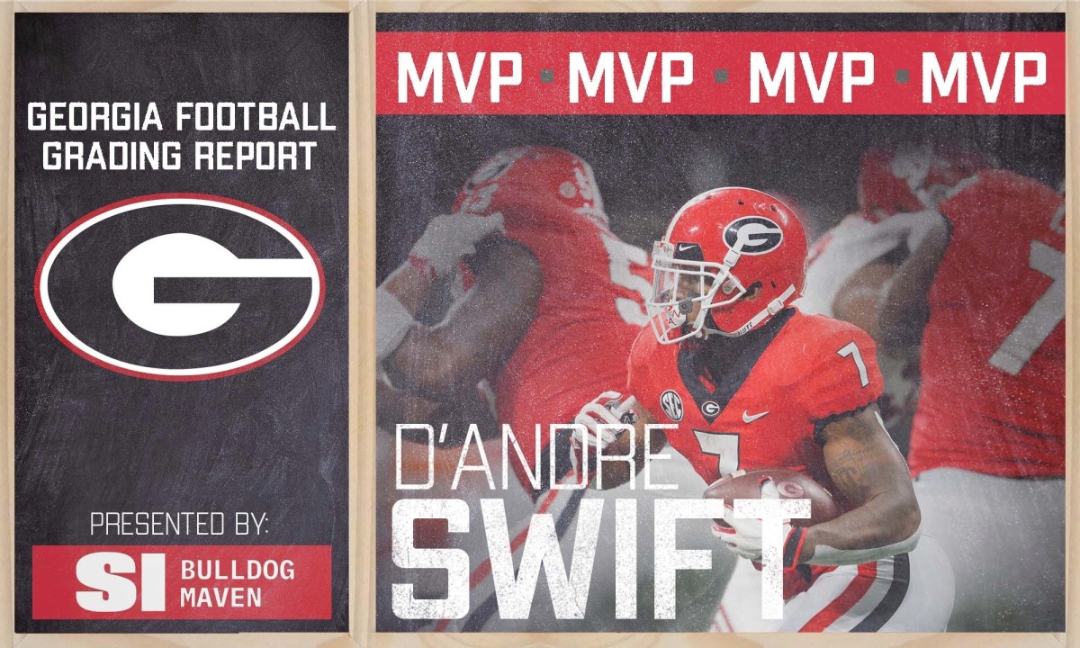 D'Andre Swift leads the SEC in rushing
