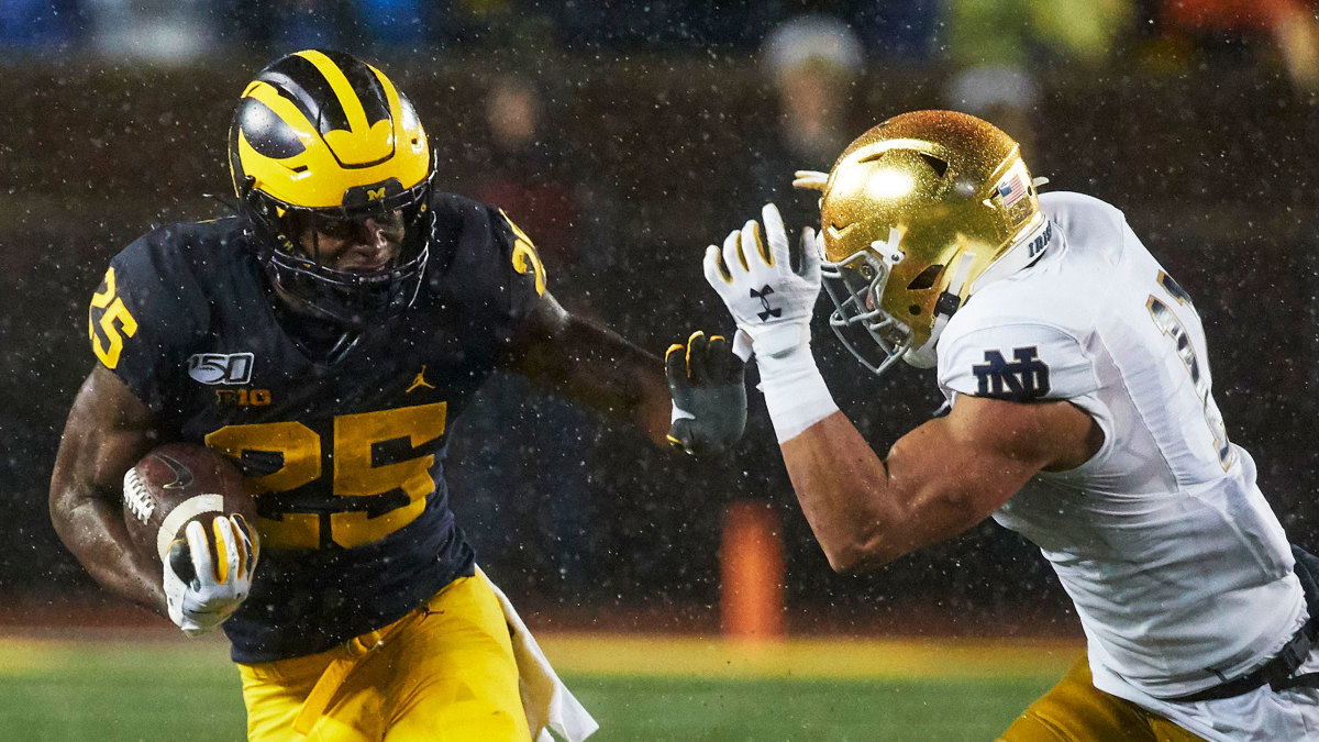 Michigan vs Notre Dame football