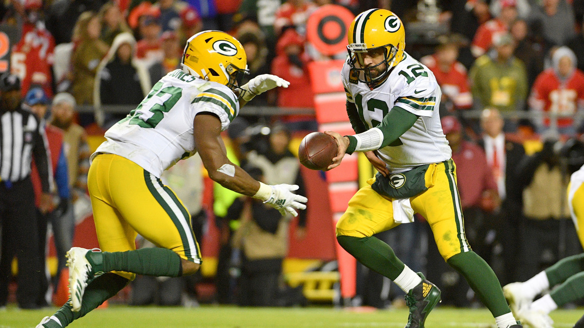 Packers Vs Chiefs Aaron Jones Aaron Rodgers Shine In Snf Win Sports Illustrated