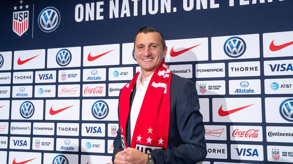 Vlatko Andonovski is the new USWNT coach
