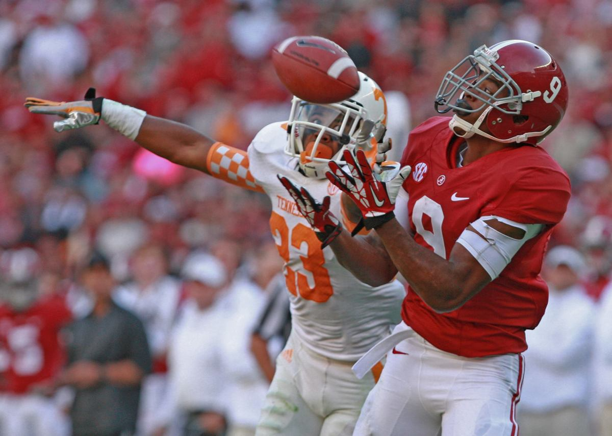 Alabama wide receiver Amari Cooper