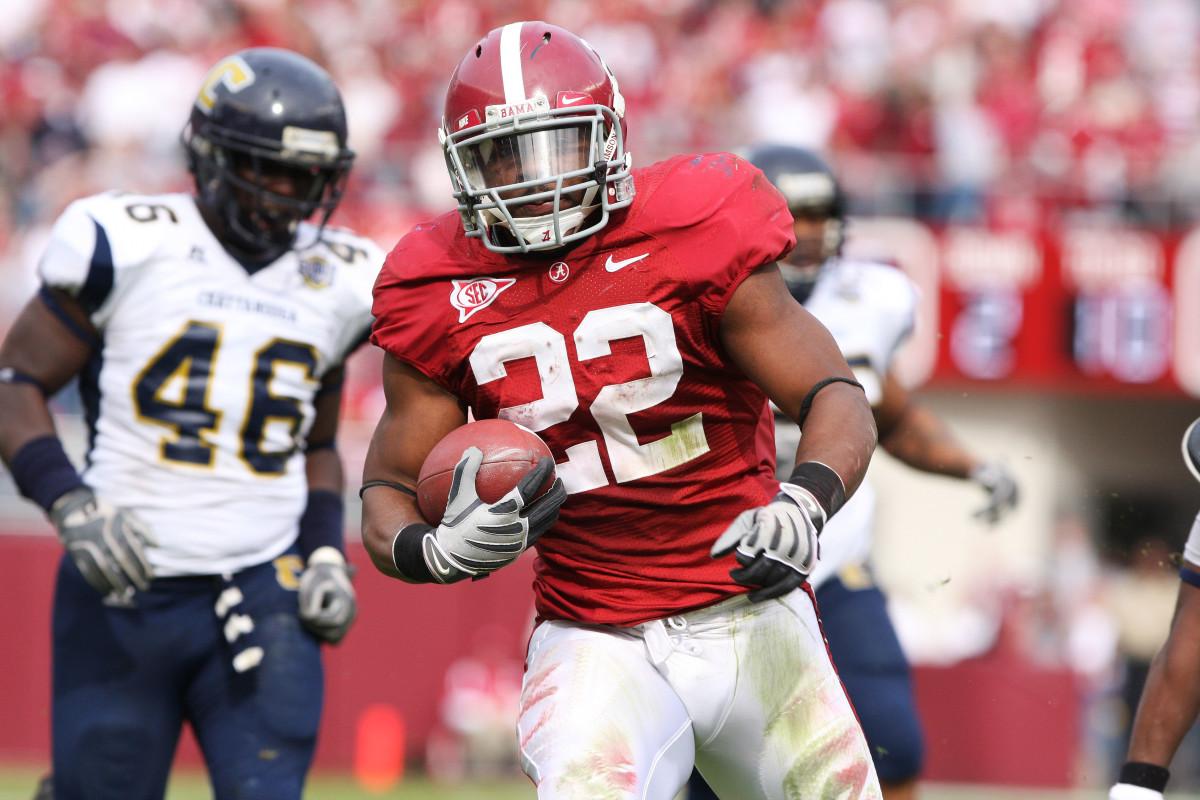 Alabama running back Mark Ingram Jr.