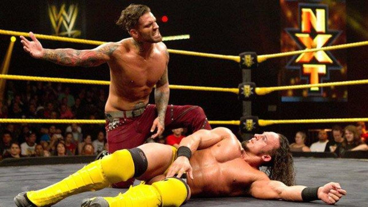 Corey Graves wrestling in NXT