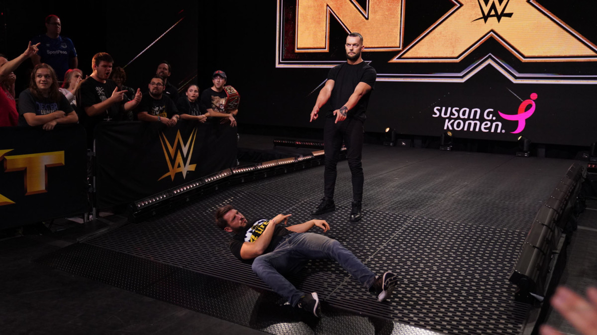 WWE's Finn Balor after his heel turn on NXT