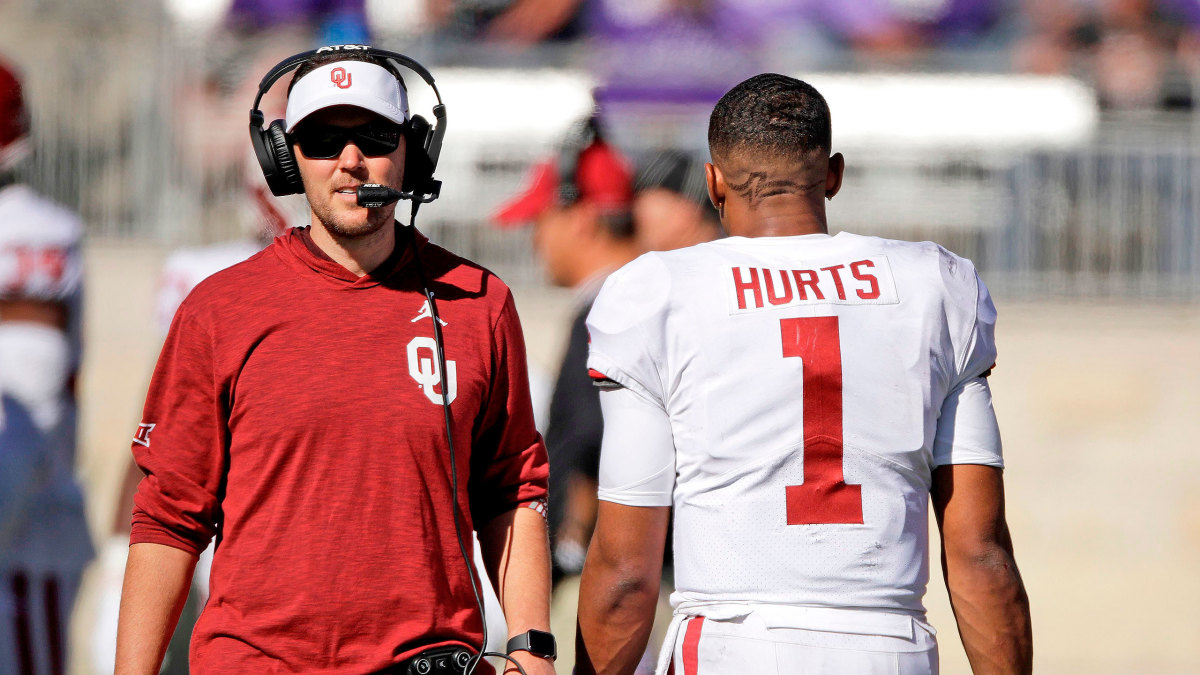 College football bowl projections Oklahoma Jalen Hurts